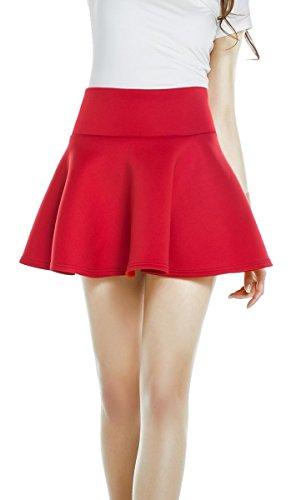 red mini skirt - 8