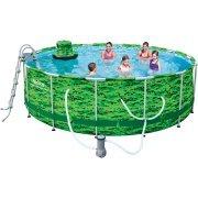 Bestway Steel Pro MAX Camo 14' x 48'' Frame Swimming Pool Set by Bestways (Image #1)
