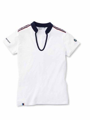 BMW ladies' Motorsport fashion T-Shirt in White (Bmw Jersey Cotton)