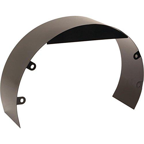 Universal Black Steel 5-1/2 Inch Fan Shroud w/Mounting Bolt Kit