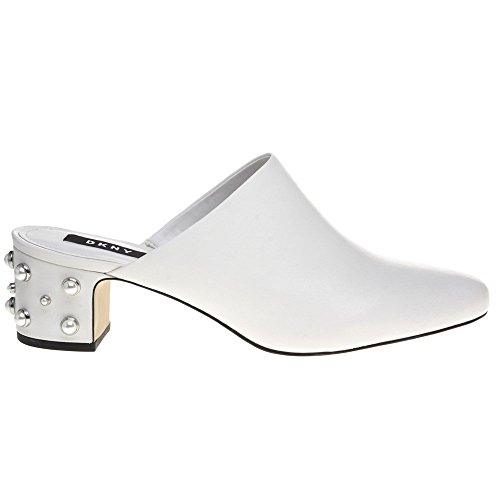 Dkny Ginger Pearl Mule Womens Shoes White zAaT4b