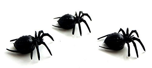 Melody Jane Dolls Houses House Miniature Halloween Shed Garden Accessory 3 Huge Scary - Miniature Spider
