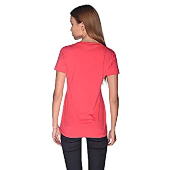 Creo Bikers Born To Ride T-Shirt For Women - S, Pink