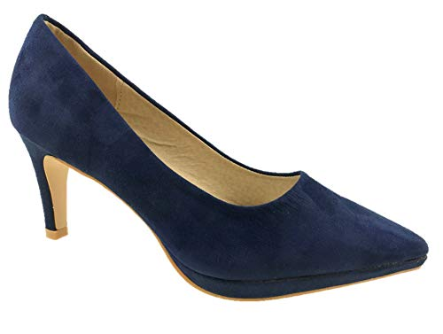 Femme Bleu Bleu Escarpins Femme Bleu Escarpins Azaray Femme Escarpins Azaray Azaray gHFzxAqx
