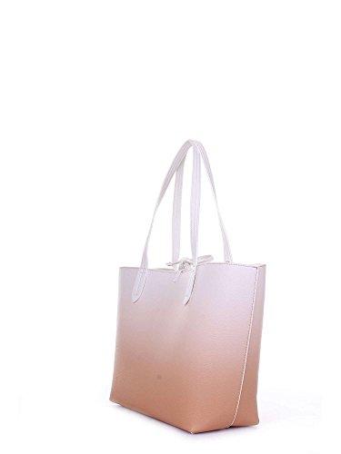 Patrizia Pepe reversible Shopper weiß