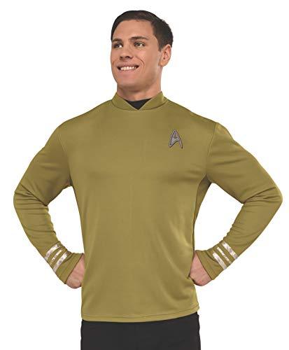 Rubie's Men's Star Trek: Beyond Captain Kirk Costume Shirt, Olive Green, Extra-Large -