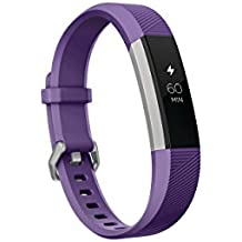 Fitbit Ace, Activity Tracker for Kids 8+, Power Purple / Stainless Steel One Size