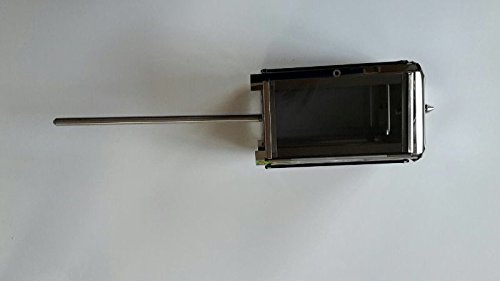 Lanterna in acciaio inox con picchetto Grab luce tomba lampada Grab lampada in acciaio inossidabile Cimitero luce lampada in acciaio inox 22 cm x 11 cm x 11 cm con picchetto da terra 30 cm