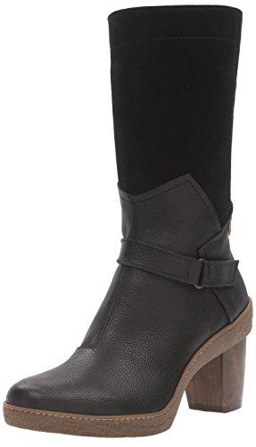Black para Mujer EU Botas NF75 Soft Lichen Black LUX Suede Negro Naturalista N01 41 Montar de Grain El P7Aw6qP