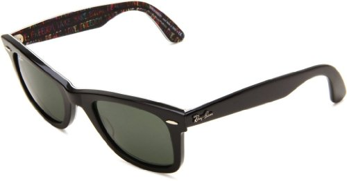 Ray-Ban Original Wayfarer Sunglasses Rb2140 1088 Top Black On Texture Crystal - Ban Sunglass Store Ray