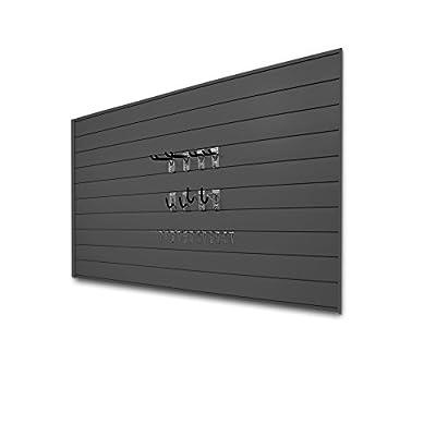 Proslat 33013 Basic Bundle with Slatwall Panels and Hook Kit