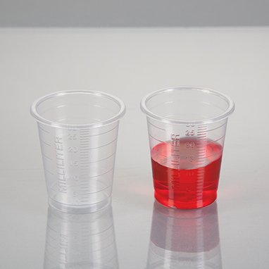 1oz Small Plastic Cup, pack 4,500