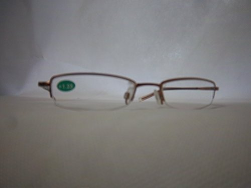 Foster Grant Spare Pair Gold Metal Reading Glasses +1.25