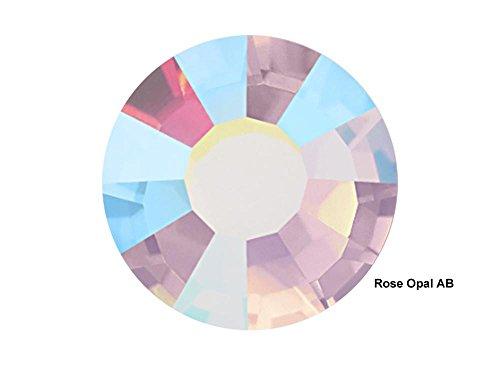 Rose Opal AB, 288 Preciosa Genuine Czech Viva Crystals 16ss, ss16 (4mm) Viva12