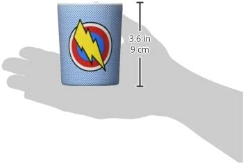 2-Pack Super Power BAM-Blue//Red BooginHead Melamine Cup Set