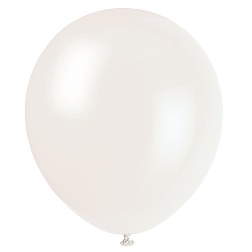 12 Latex Clear Balloons 10ct
