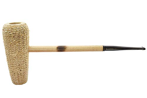 Missouri Meerschaum - MacArthur 5-Star Corn Cob Tobacco Pipe - Natural, Straight Bit - Missouri Meerschaum Corn Cob Pipe