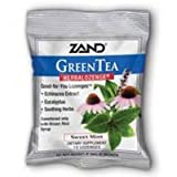 HerbaLozenge, Green Tea Echinacea 36x15ct by Zand (Pack of 2)
