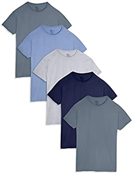 5-Pack Fruit of the Loom Men's Stay Tucked Crew T-Shirt