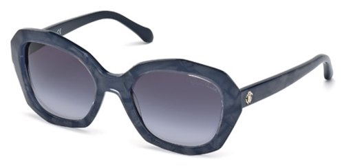 (Roberto Cavalli RC797S Sunglasses 92B Blue/Other New)
