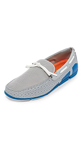 SWIMS Breeze Lace In Gray/BlitzBlue, Size 9 by SWIMS