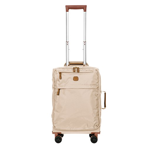 Bric's X-Bag/x-Travel 21 Inch International Carry on Spinner with Frame, Papyrus by Bric's