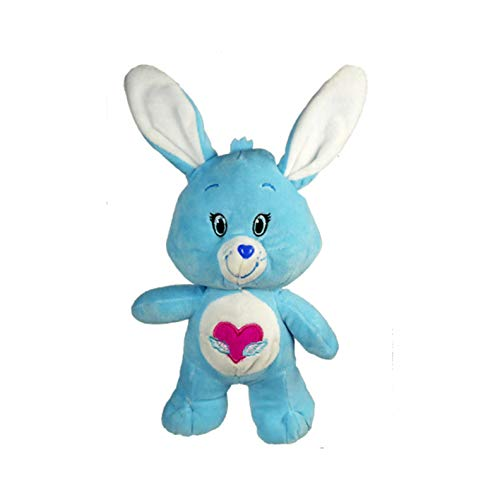 """Care Bears Plush Cousins 9"""" Stuffed Dolls - Embroidered Eyes Button Nose (Swift Heart Rabbit) from Care Bears"""