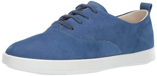 - ECCO Women's Women's Leisure Tie Sneaker, Indigo 7, 39 M EU (8-8.5 US)