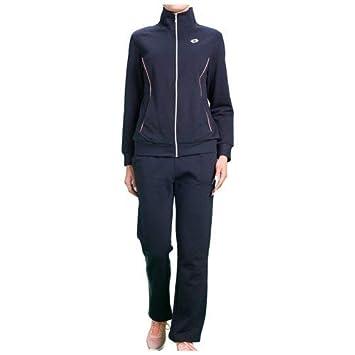 Lotto Chándal Meryl V Suit. Conjunto Mujer algodón. S8797. Talla S ...