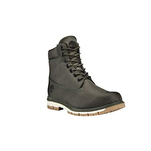 (Timberland Men's Radford 6-Inch Dark Green Canvas Boots Size 9.5 A1OZWGRAPELEAFSZ95)