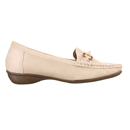 Ital-Design - Zapatos Mujer Beige - beige