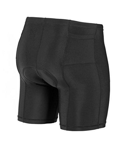 SLS3 Triathlon Men`s Tri Shorts | 2 Pockets | Black | FRT 2.0 | Swim Bike Run | German Designed