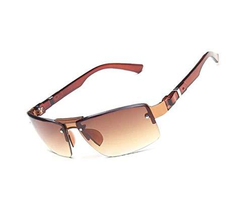 marco Hombres de Conducción Light al Esquí medio sol de aire Gafas sol de Brown protección UV400 Ciclismo FlowerKui libre Mujeres Gafas x0WPvdq11