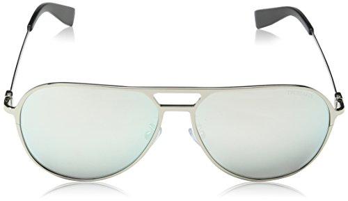 Trussardi, Lunettes de Soleil Homme Grey (Shiny Palladium)