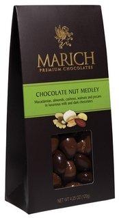 (MARICH CONFECTIONERY Chocolate Nut Medley, 4.5 OZ)