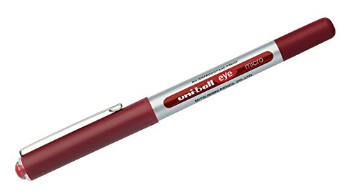 Tintenroller uni-ball® eye micro Strich: ca. 0,2 mm Schreibfarbe: rot