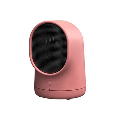 (Home Mini Electric Heater,Desktop Portable Energy-saving Electric Heating Fan,Over-Heat Protection,Tip-Over Protection,Suitable For Damp Air,Kitchen,Bedroom,Basement,Caravan,Office,Garage (Red))