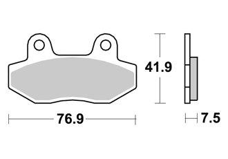 PASTILLAS DE FRENO DELANTERO AP RACING HYO-SUNG GT R SUPERSPORT 125 2006-2008