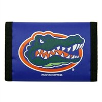 Team Wallet (FLORIDA GATORS Team Logo Tri-Fold NYLON WALLET)