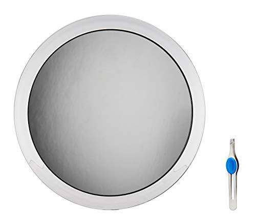 Fogless Suction Cup Mirror - JUMBL Large 10