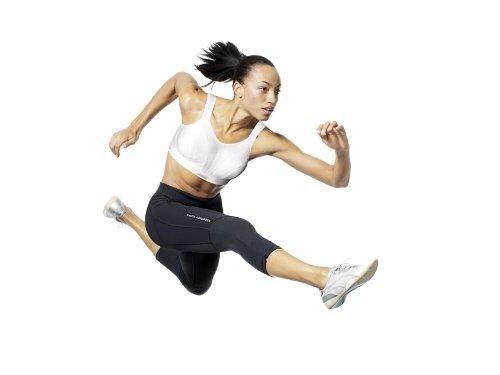 sport Reggiseno Absorber Shock White da donna Bianco g7vpxw6q