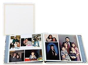 Mitzvah Albums Bar Photo (Large Magnetic Page X-Pando Photo Album, White)
