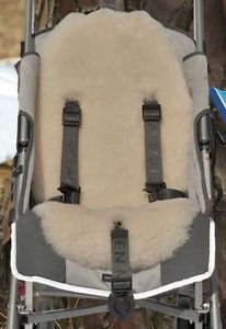 Lamby Sheepie Sheepskin Australian Wool Stroller Or Car Seat Liner by Natural Baby