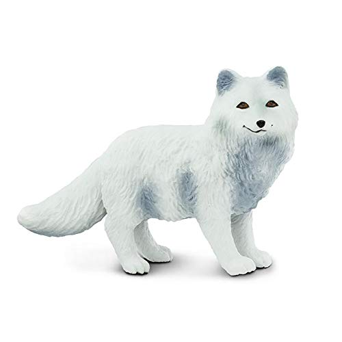 Safari Ltd. North American Wildlife - Arctic Fox - Realistic Hand Painted Toy Figurine Model - Quality Construction from Phthalate, Lead and BPA Free Materials - For Ages 3 and Up
