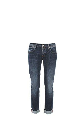 Jeans Uomo 0/zero Construction 30 Denim Fabaco/s Lnt530 1/7 Primavera Estate 2017