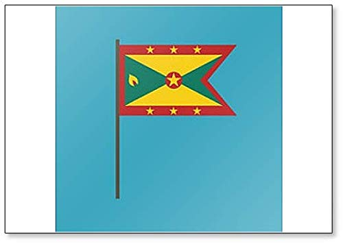 Imán para nevera, diseño de bandera de Granada: Amazon.es: Hogar