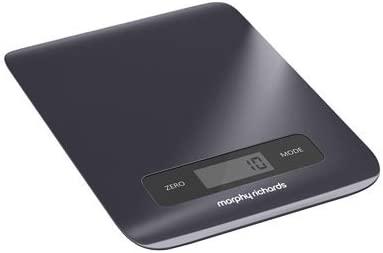 Morphy Richards 46180 Mesa Báscula electrónica de cocina Negro ...