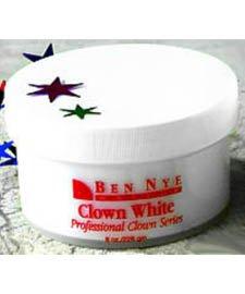 [Ben Nye Clown White Makeup CW-4 (8 oz)] (Clown White Makeup)