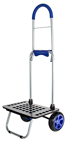 (dbest products Bigger Mighty Max Personal Dolly, Blue Handtruck Cart Hardware Garden)