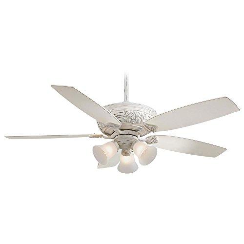 Minka Aire F759 PBL Three Light Provencal Blanc Ceiling Fan